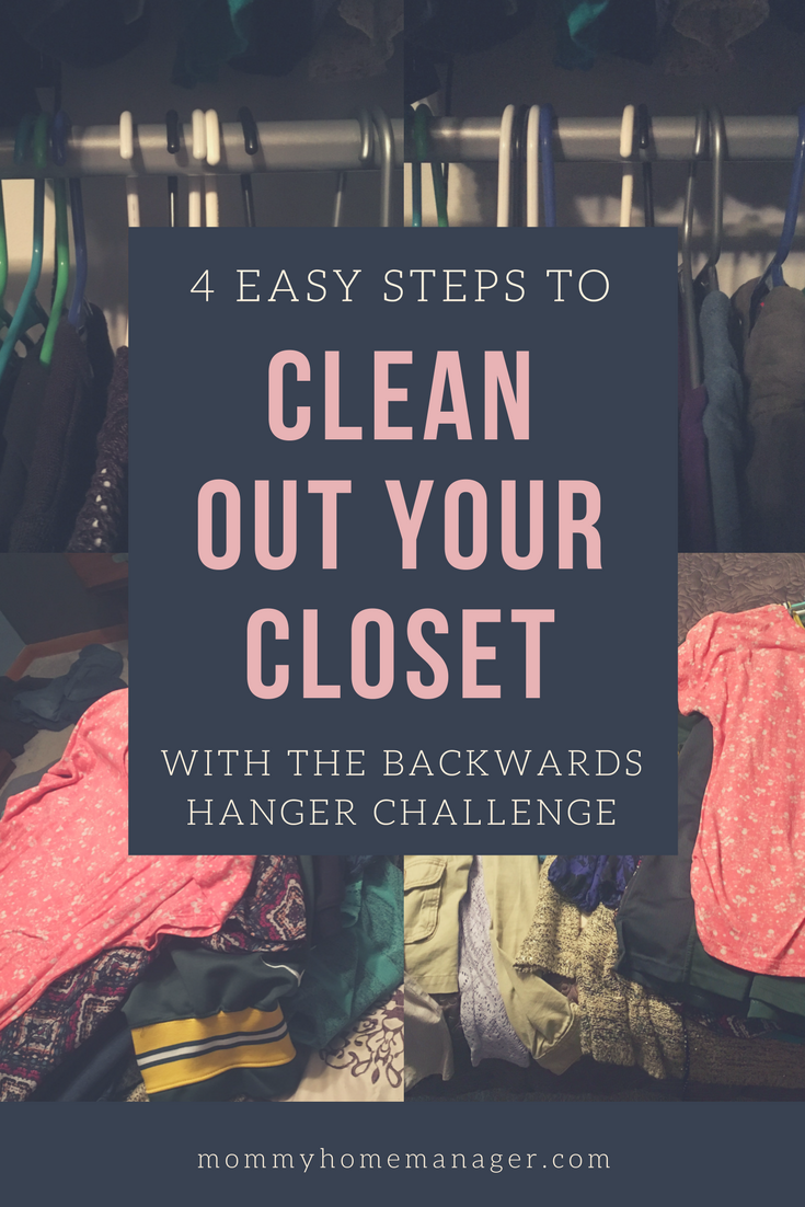 Clean out your closet with the backwards hanger challenge - Cleaning out your closet ...