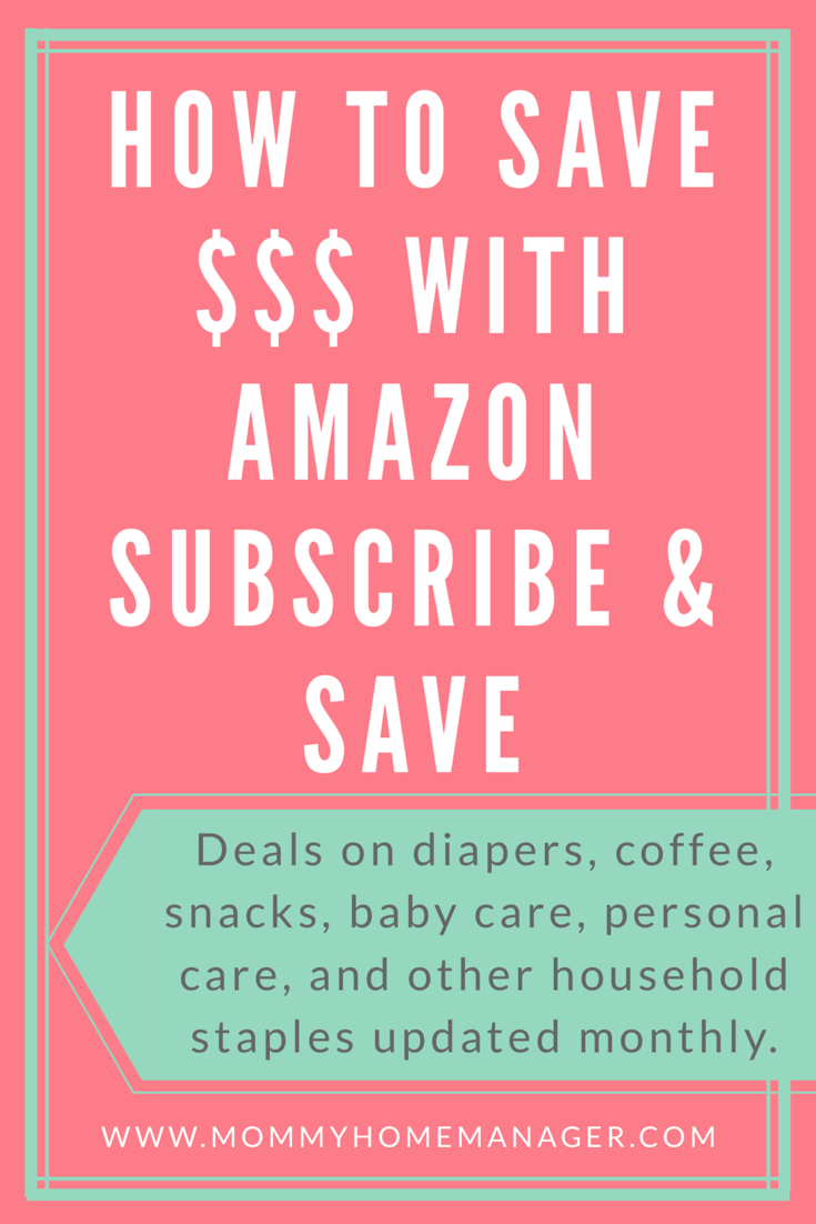 Deals On Amazon Subscribe And Save Updated Monthly